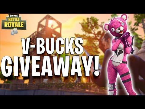 🔴 137 Solo Wins - V-Bucks Giveaway! - Fortnite Battle Royale! (100 Likes!?)