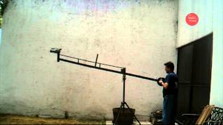 Grua sin Cabezal Robotico para Video Cámara