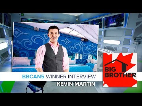 Big Brother Canada 5 | Winner Kevin Martin Interview