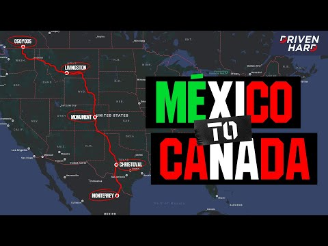 I Drove From Mexico To Canada In A Range Rover Sport   ULTIMATE Road Trip