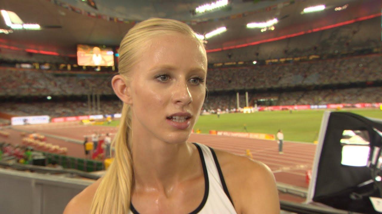 WCH 2015 Beijing Sage Watson CAN 400m Hurdles Semi Final