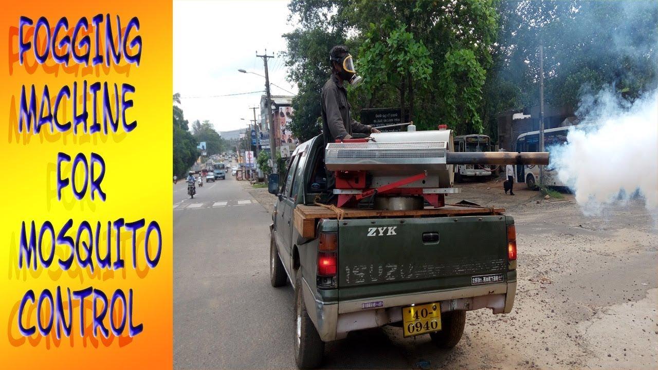 Fogging Machine for Mosquito Control mosquito fogger - YouTube