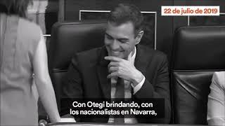 Albert Rivera PREDIJO cual era «EL PLAN» de Pedro Sánchez cuatro meses antes