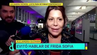 Alejandra Guzmán evitó hablar de Frida Sofía | De Primera Mano