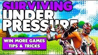 Surviving Under Pressure & Win More Games | Smart Fighting Tips & Tricks | Fortnite Battle Royale