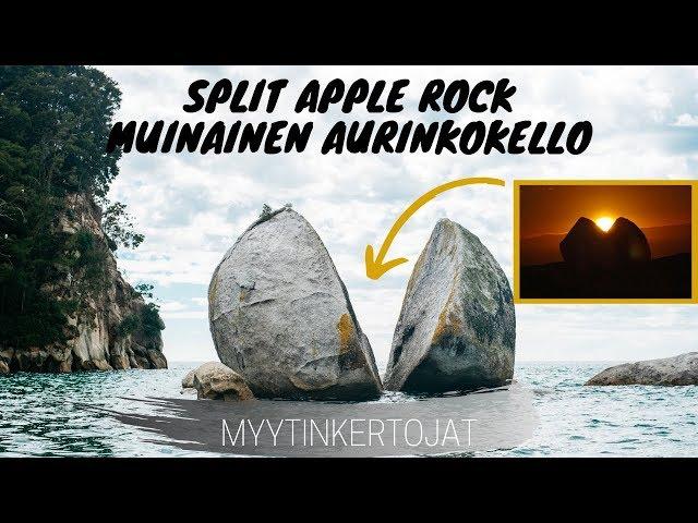 Split Apple Rock - Muinainen Aurinkokello