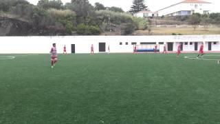 Jogo de treino Clube Desportivo Santa Clara Juniores vs Juvenis Parte 1