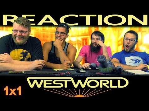 """Westworld 1x1 PREMIERE REACTION!! """"The Original"""""""