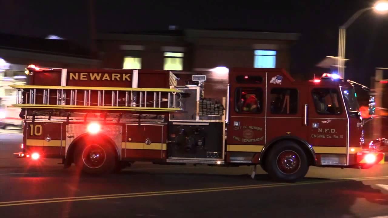 Newark Nj Fire Department Engine 10 Ladder 5 Rescue 1