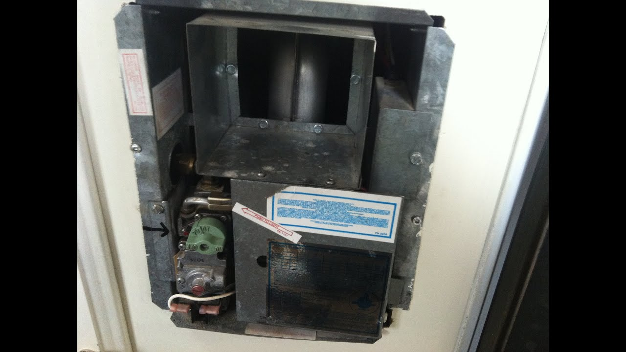 How to RV Furnace Repair Sail Switch Lighting Procedure