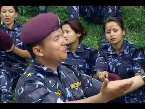 Nepal Police Dashain Song - Aula Hai Dashain Ma