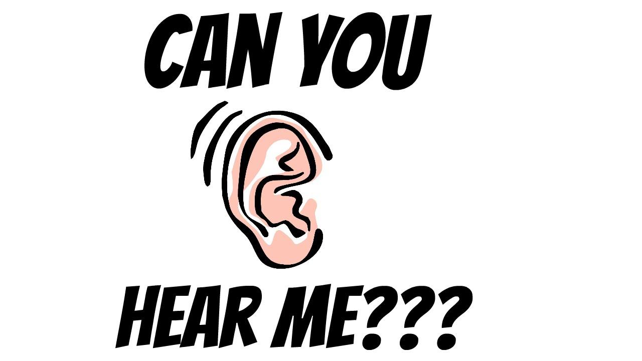 Can You Hear Me Sos