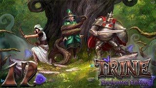 Trine: Enchanted edition прохождение на геймпаде часть 12 Финал: Нежить повержена