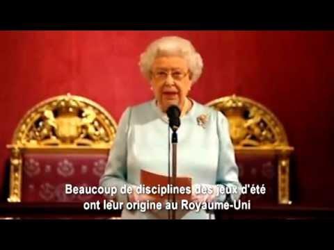 JO de Londres : les bons voeux de la reine