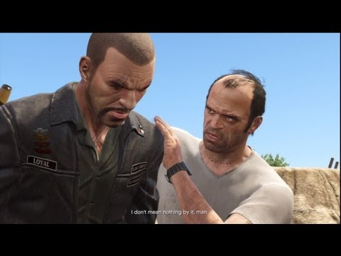 GTA V: Trevor Kills Johnny Klebitz From GTA 4 Lost and Damned