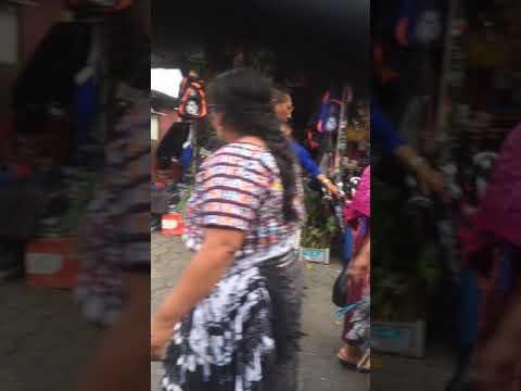 The market in Antigua Guatemala