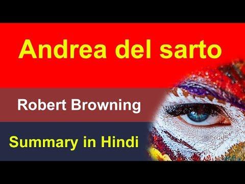 Andrea Del Sarto summary in Hindi : by Robert Browning