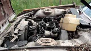 Re démarrage Peugeot 504 V6 coupé, 17 ans après son arrêt.MPG