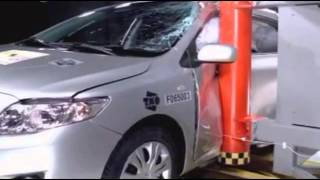 Crash test Toyota Corolla 2007