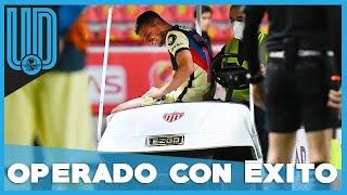 El futbolista del América, Nicolás Benedetti, estaría fuera de actividad de cuatro a seis semanas.   #América #LigaMx #NicolásBenedetti