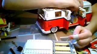 лего видео обзор кэмп ван (фольцваген) дом на колесах сори перепутал не мерседес