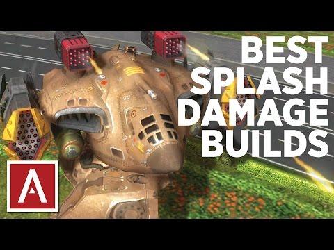 War Robots [WR] - Best Splash Damage Builds