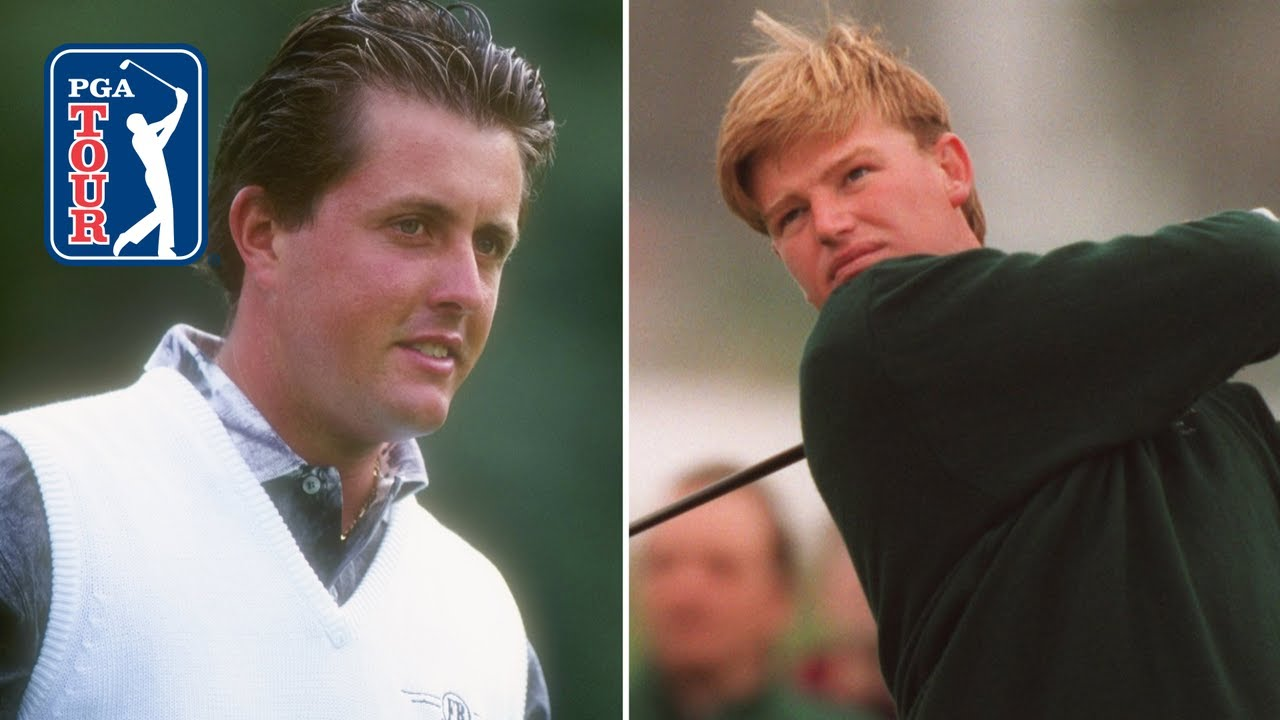 Phil Mickelson vs Ernie Els at Golf del Sur | 1995 Shell's Wonderful World of Golf