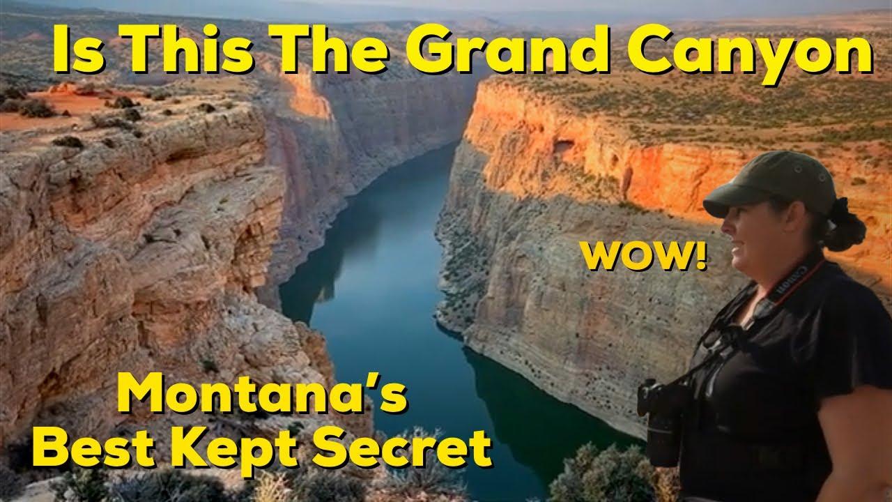 Montana's BEST kept SECRET!!! Bighorn National Recreation Area. AMAZING  views and wildlife!!