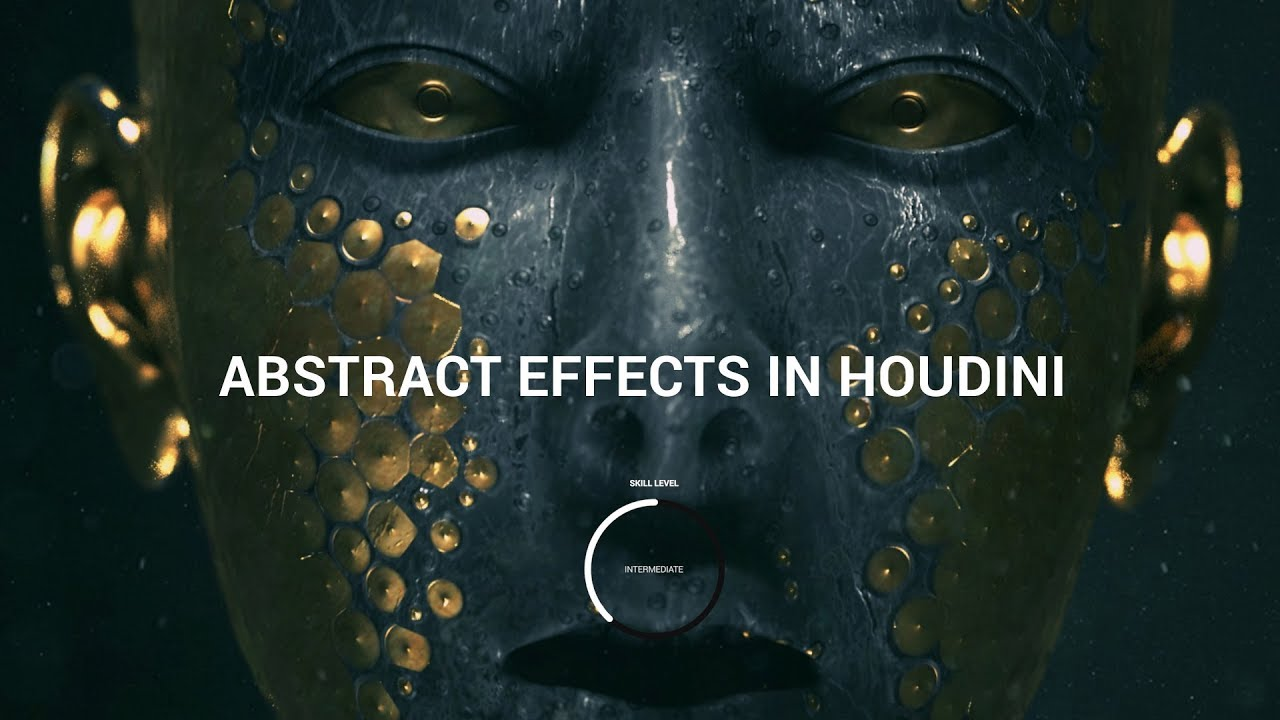 Abstract FX in Houdini — Course Trailer