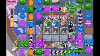 Candy Crush Saga Level 1467【Hard Level】★★★ NO BOOSTER