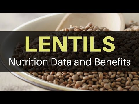 Lentils Nutrition Data And Health Benefits Of Eating Lentils (High Fiber SUPERFOOD)