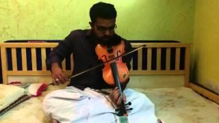 Kaadal Rojave, Bol Na Halke and Vaseegara in Violin by Subramoni Rengarajan