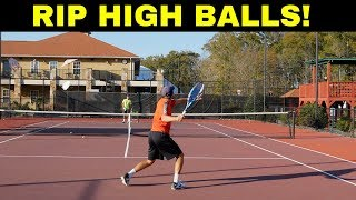 To ABSOLUTELY DESTROY Any HIGH BALL, Do This