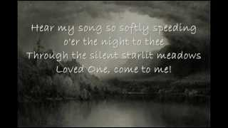 Schubert Serenade (English)