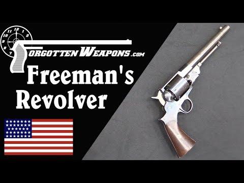 Freeman&39;s Patent Revolver No Not Half Life