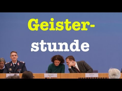 22. Januar 2018 - Interessante Bundespressekonferenz (RegPK)