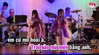 TEEN VỌNG CỔ l Karaoke Thanh Hằng ft Thanh Hà