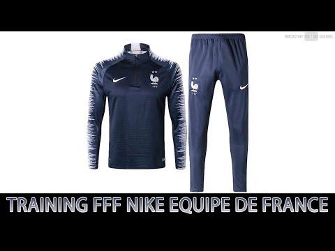 ⚽️ Déballage Survêtement Training Entrainement FFF Nike Equipe De France  ⭐️⭐️ 2018