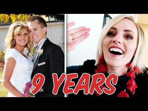 Re-Creating Our Wedding Day?! 9 Year Wedding Anniversary! | Ellie And Jared