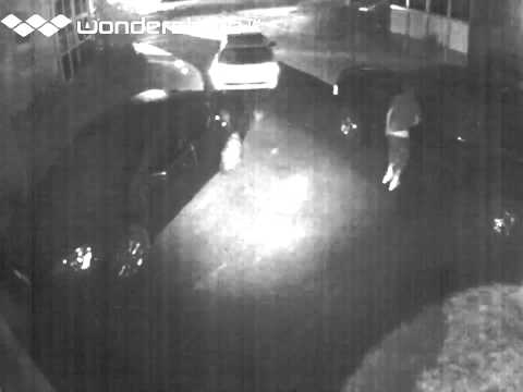 Video of Vint Hill burglary suspect in Fauquier County, October 2013