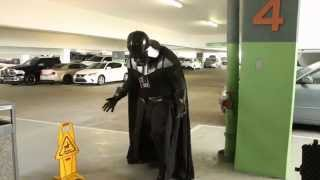 Funny - Comic-Con: Darth Vader in Denial of The Force