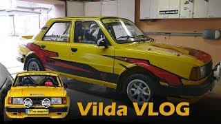 😮 Jak se počmáral Vilda 😮 Polep rallyového vozu