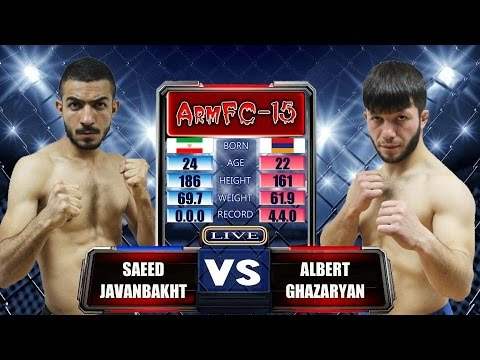 ArmFC-15.Saeed Javanbakht Vs Albert Ghazaryan HD