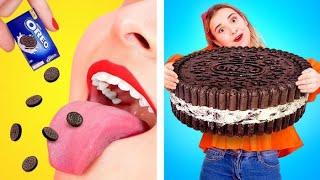 EL PRIMERO EN TERMINAR EL PASTEL GANA || Mejores bromas y trucos de pastel fáciles de 123 GO! SCHOOL