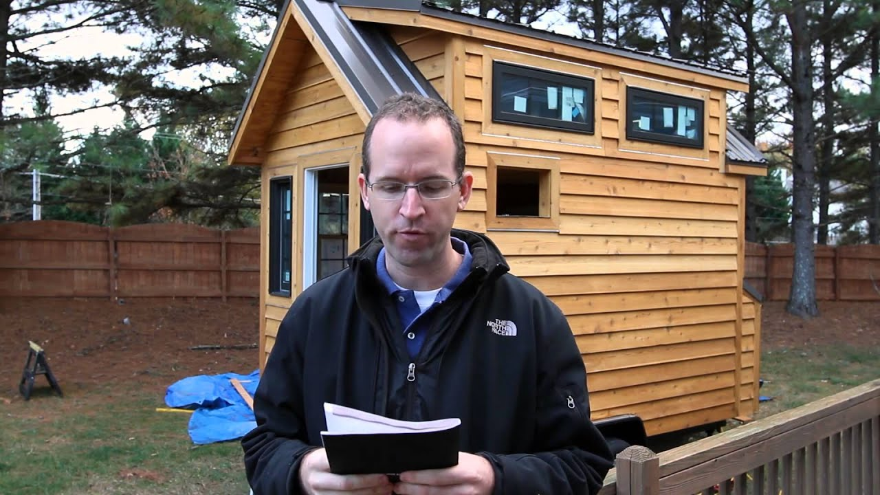 Tiny House Design And Construction Guide Update Youtube