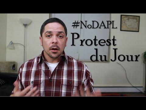 #NoDAPL 2: Protest du Jour