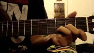 La Malaguena Once Upon a Time in Mexico guitar lesson PART 2