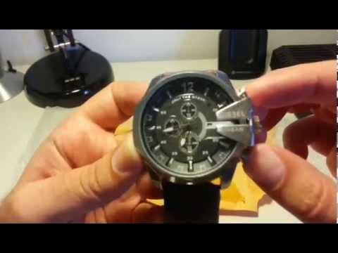 37ceec60bdac DZ4290 Replica Reloj Diesel Aliexpress Unboxing - YouTube