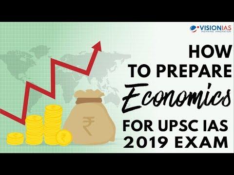 How to Prepare Economics for UPSC IAS 2019 Exam
