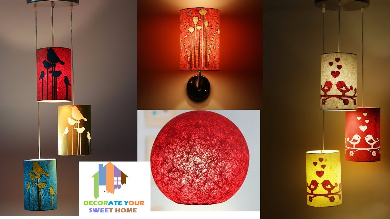 30 attractive home decor lights for home decoration for Home decor items online